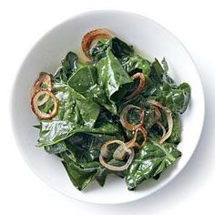 Wilted Kale with Golden Shallots | MyRecipes.com