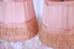 love these lamp shades