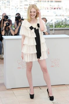 Elle Fanning in Chanel | Cannes Film Festival 2016