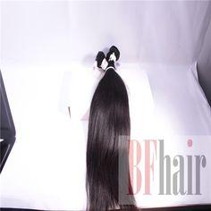 BF Hair 5A Virgin Remy Hair Brazilian Straight Hair 3Pcs/Lot Natural Black No tangle - BF Hair
