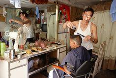 Peluqueria. Barber shop. China