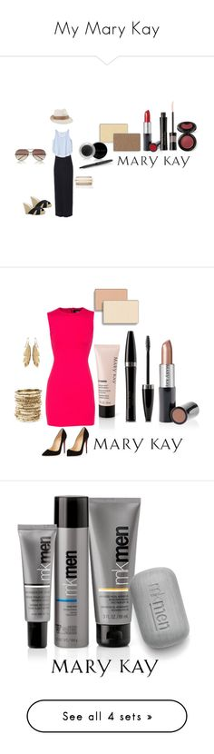 """""""My Mary Kay"""" by shannondolliver ❤ liked on Polyvore featuring beauty, ONLY, Lola, Linda Farrow, ALDO, Forever New, Mary Kay, Christian Louboutin, Dsquared2 and Amrita Singh"""