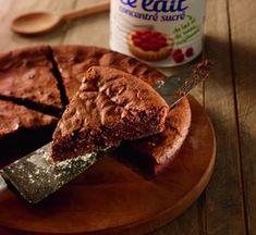 brownie au lait concentré sucré : Recette de brownie au lait concentré sucré - Marmiton