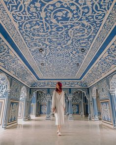 The famous blue room 💙 The famous blue room 💙 More from my site India Golden Triangle Tour The golden triangle which makes up Agra, Delhi and Ja… Mehrangarh Fort and Museum with Blue city Jodhpur, Rajasthan India. Jaipur Travel, India Travel, Jaisalmer, Udaipur, Places Around The World, Around The Worlds, Style Marocain, Weather In India, Backpacking India