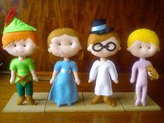 Costurinhas da Duda: Turma do Peter Pan