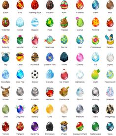 This is really cute/dragon eggs pf all different kinds! Dragon City Cheats, Dragon City Game, Dragon Games, Wings Of Fire Dragons, Cute Dragons, Anubis, Dungeons And Dragons Art, Dragon Birthday Parties, Severus Rogue