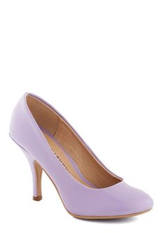 The Right Strut Heel - Purple, Solid, Formal, Wedding, Work, Daytime Party, Graduation, Bridesmaid, High, Better, Party, Pastel, Minimal, Faux Leather