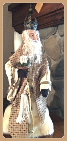 St. Nicholas Figurine by Ruth Armitage