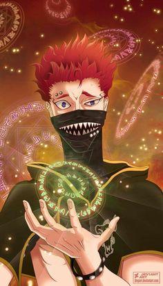 New ideas black red wall paper anime Anime Naruto, 5 Anime, Anime Kawaii, Anime Demon, Anime Guys, Black Clover Asta, Black Clover Anime, Black Clover Wallpaper, Espada Anime