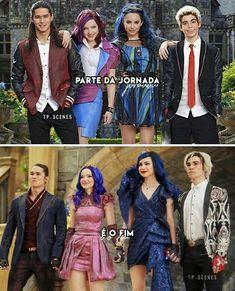 Disney Channel Movies, Decendants, Sofia Carson, Cameron Boyce, Disney Descendants, Dove Cameron, Harry Potter, Wallpapers, House