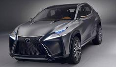 Lexus LF-NX: New luxury concept crossovers | Balcan Expres
