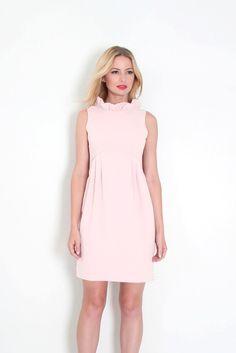 c5af1c008b5 Camilyn Beth Go Go Dress in Light Pink - Size 0 Crepe Fabric