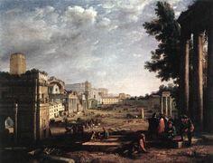 """""""er mundo de manué"""": Claude Lorrain (Claudio de Lorena), obras, pinturas, cuadros"""