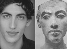 King Tut's DNA results, Western European. Except this statue is not Tut, but Akenaton. Ancient Aliens, Ancient Egypt, Ancient History, Ufo, Creepy, Empire Romain, Mystery Of History, Interesting History, Egyptian Art