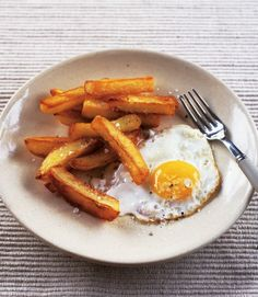Ultimate Egg and Chips (hangover cure)