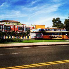 Cha Cha Carribean shack in all its glorious colors. Santa Monica #California #travel