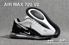 Nike has just unveiled a teaser of a new Air Max model. Dubbed the Air Max 720 this sneaker appears to utilize the Air bag formula from the Air Max 270 and transforms it into a full-length unit. Mens Nike Air, Nike Men, Nike Air Max, Pink Running Shoes, Running Shoes For Men, Black Casual Shoes, Plimsolls, Nike Shoes, Women's Shoes