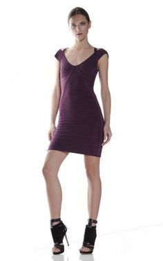 8df0a0ab2be2a Sleeveless Herve Leger Short Bandage Cocktail Dress Tocador