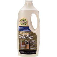 32 oz. Gold Label Sealer Wax Gloss Finish (2-Pack), Multi