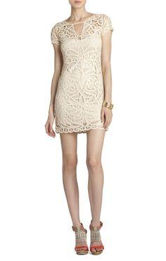 Lalinda Lace Crochet Dress