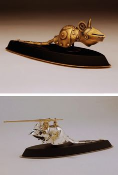 """treasures-and-beauty:  """" mayahan:  """"Artist, Jeff de Boer, Creates Cat And Mice Armor Based On Different Historical Eras  """"  Too awesome to queue. Must post immediately.  """""""