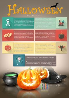 Halloween 2015 - Plakat do pobrania + Infografika