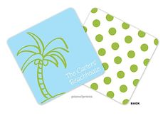 picme!prints | Personalized Coasters | Palm Tree    www.timelessimp.printswell.com