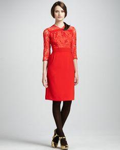 Lace-Top Dress at CUSP. $378
