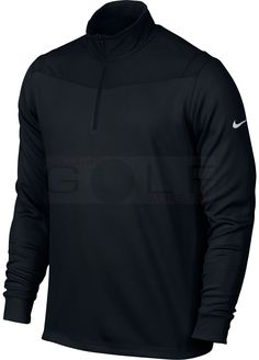 Nike Men s Dri Fit 1 2 Zip LS Top • Dri-Fit technology • 100% polyester •  Ultimate stretch and protection from the elements • Rib knit fold-over  collar ... 252328b8d122