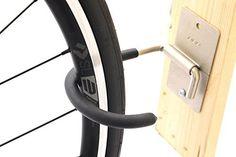 BBB 2.977.452.601 Parkinghook BTL-26 - Soporte de pared para bicicletas, color plateado y negro