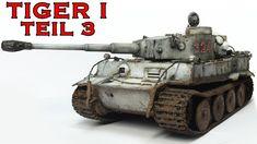 Tiger 1 Panzer Modellbau 1:35 Winter-Tarnung Airbrush Alterung wash Teil 3 - YouTube