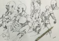 """Check out my @Behance project: """"Scribbling sketch2""""…"""