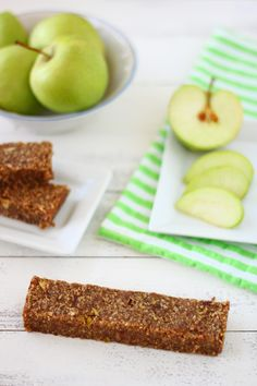 Yummy! Healthier energy bars.