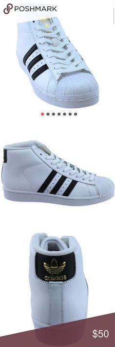 Adidas Pro Model shell toe middies