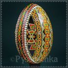 Real Ukrainian Pysanky. Goose Pysanka. Hand made Hutsul Easter Eggs