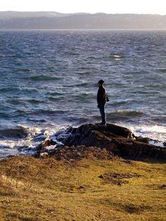 Norwegen, Oslo, Gressholmen, Meer, Küste