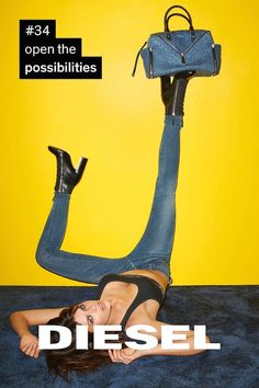 Diesel has dropped a huge motivational campaign, shot by Terry Richardson…