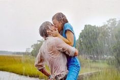 """I'm a sucker for the """"Kissing in the Rain"""" movie moments~ Don't tell anyone"""