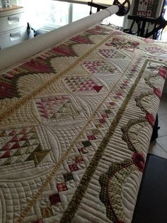 Great longarm quilting ( borders)