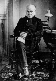 Adams: Born: 7-11-1767, Braintree, Massachusetts Bay (now Quincy) - Died: 2-23-1848, Washington, D.C., U.S. - Spouse(s): Louisa Johnson