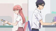 Narumi e Hirotaka ♡ Hanako e tarou ♡ Wotaku ni koi wa muzukashi ♡ Otaku Anime, Manga Anime, Koi, Slice Of Life, Sanrio Danshi, Real Anime, Anime Group, Hard To Love, Couple Cartoon