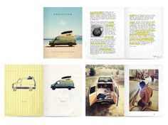 COMPASSING A SURF MOVIE BY REEF X CYRUS SUTTON by Jeff Sutherland, via Behance