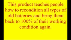 EZ Battery Reconditioning Course Reviews | How to Bring a Car Battery Ba...
