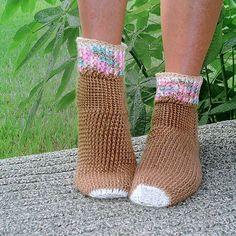 Sweater Socks Crochet Pattern