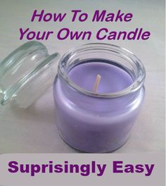 Diy Scented Candles With Perfume Beeswax Candle Making Supplies Diy Candles Scented, Homemade Candles, Beeswax Candles, Soy Candles, Candle Jars, Candle Maker, Candle Holders, Washi, Make Your Own