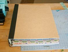 Smash Book - tutorial how to create one pages and all... then start smashing stuff in there.