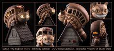 Commission : Catbus - My Neighbor Totoro by emilySculpts.deviantart.com on @DeviantArt