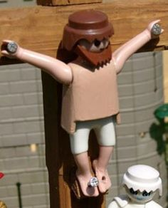Playmobil Cristo!!!!!