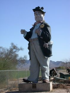 Hobo Joe - in memory of Marvin Ransdell, 1989;  Buckeye, Arizona