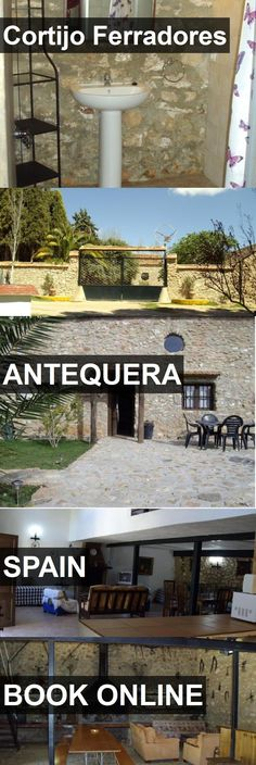 Hotel Cortijo Ferradores in Antequera, Spain. For more information, photos, reviews and best prices please follow the link. #Spain #Antequera #CortijoFerradores #hotel #travel #vacation